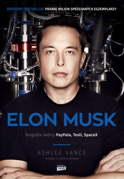 Książka biograficzna Elon Musk